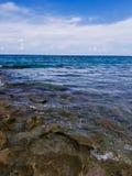 Roches de rivage Image libre de droits