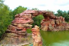 Roches de rivière. Image stock
