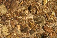 Roches de rivière Image libre de droits