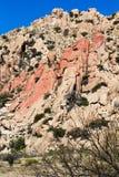 Roches de rouge de l'Arizona Photo libre de droits