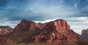 Roches de rouge de Sedona Images libres de droits