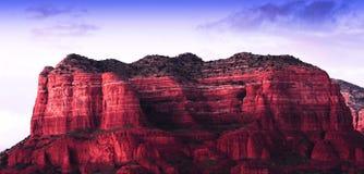 Roches de rouge de Sedona Photographie stock libre de droits