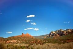 Roches de rouge de Sedona Image libre de droits