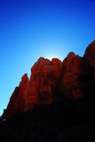 Roches de rouge de Sedona Images stock