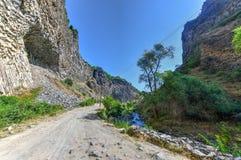 Roches de symphonie - Arménie photos stock