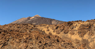 Roches de Teide Images stock
