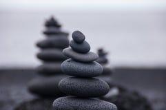 3 roches empilées Photographie stock libre de droits