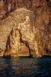 Roches en Mer Noire Photos stock
