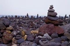 Roches en pierre Photo stock