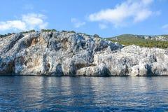 Roches en Sardaigne Photographie stock libre de droits