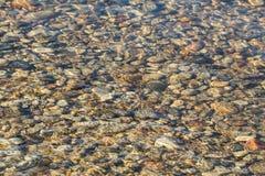 Roches et eau abstraites Images stock