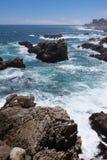 Roches et mer Images libres de droits