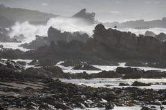 Roches et mer Photo libre de droits