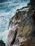 Roches et mer Photographie stock