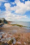 Roches et mer de Dawlish photo libre de droits
