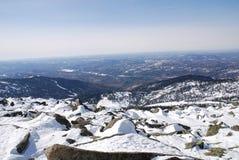 Roches, montagne de Mustag Images libres de droits