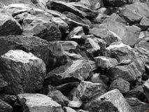 Roches naturelles d'ardoise Photographie stock