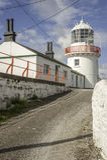 Roches-Punkt-Leuchtturm Stockbilder