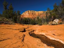Roches rouges dans Sedona Photographie stock