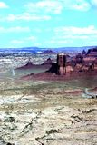 Roches rouges de Canyonlands Photo libre de droits
