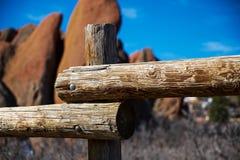 Roches rouges du Colorado Photos stock