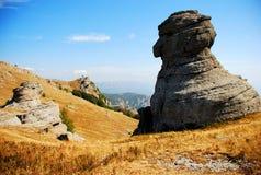 Roches sur la montagne Images stock