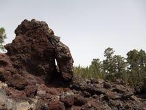 Roches volcaniques dans Ténérife photographie stock