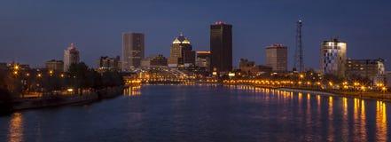 Rochester Нью-Йорк городской Стоковые Фотографии RF