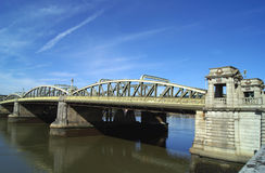 Rochester Bridge over River Medway in Rochester, Medway, England Royalty Free Stock Photography