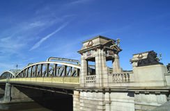 Rochester Bridge over River Medway in Rochester, Medway, England Royalty Free Stock Photo