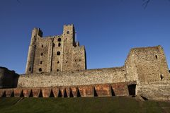 Rochester Castle Royalty Free Stock Image
