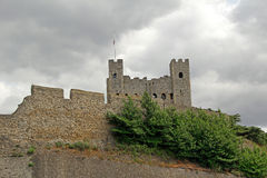 Rochester castle fort Stock Photo