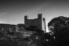 Rochester Castle Keep Stock Photo