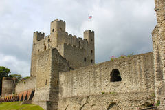 Rochester Castle  Stock Photo