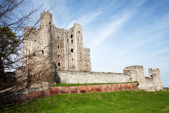 Rochester Castle in Kent Stock Image