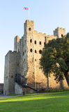 Rochester Castle Rochester Kent UK Stock Photo