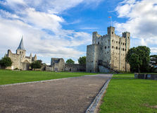 Rochester Castle, England Stock Photography