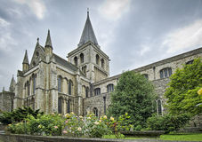Rochester Cathedral Royalty Free Stock Photography