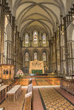 Rochester Cathedral interior Royalty Free Stock Image