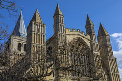 Rochester Cathedral in Kent Stock Images