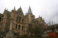 Rochester domkyrka England UK Arkivfoto