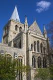 Rochester domkyrka i Kent Arkivbild