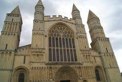 Rochester domkyrkadetaljer, England Royaltyfria Bilder