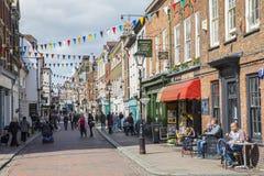 Rochester em Kent, Reino Unido Fotografia de Stock Royalty Free