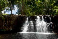 Rochester Falls in Mauritius Royalty Free Stock Images