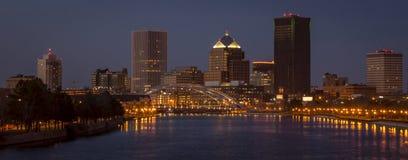 Rochester i stadens centrum New York Royaltyfri Bild