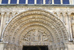 Rochester Katedralni szczegóły, Anglia Obrazy Royalty Free
