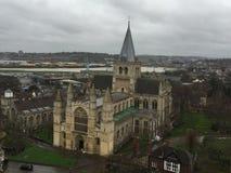 Rochester-Kathedrale Kent Stockfotos