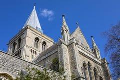 Rochester-Kathedrale in Kent Lizenzfreie Stockfotos