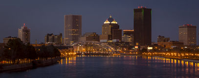 Rochester New York Downtown Royalty Free Stock Image